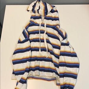 Striped Forever 21 Hoodie (GUC)